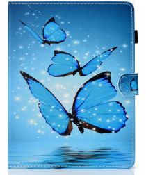 Samsung Galaxy Tab A 7.0 (2016) Hoes Wallet Book Case Vlinder Print