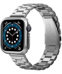 Spigen Thin Fit Apple Watch 44MM Hoesje Hard Plastic Bumper Grijs