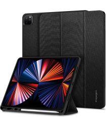 Spigen Urban Fit Apple iPad Pro 12.9 (2021) Hoes Book Case Zwart