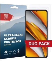 Rosso Xiaomi Poco F3 Ultra Clear Screen Protector Duo Pack