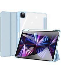Dux Ducis Toby Series Apple iPad Pro 11 Hoes Tri-Fold Book Case Blauw