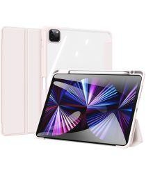 Dux Ducis Toby Series Apple iPad Pro 11 Hoes Tri-Fold Book Case Roze