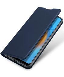 Dux Ducis Skin Pro Series Oppo A74 4G Hoesje Portemonnee Blauw