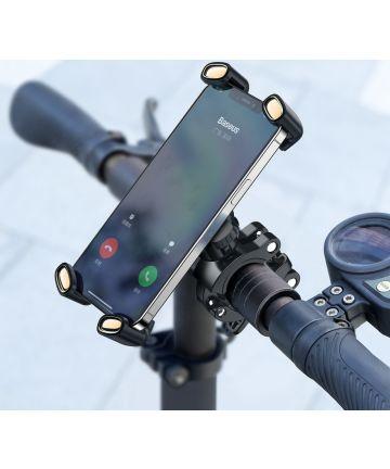 Baseus 360° Fiets Telefoonhouder voor Smartphones 4.7 tot 6.7 Inch Houders
