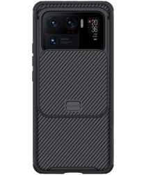 Nillkin CamShield Xiaomi Mi 11 Ultra Hoesje met Camera Slider Zwart