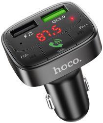 Hoco Bluetooth Muziek FM Transmitter en Autolader met Quick Charge 3.0