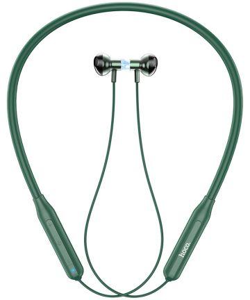 Hoco Bluetooth Draadloze Sport Oordopjes Groen Headsets