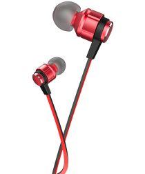 Hoco Platinum Sound Universele In-Ear Oortjes Telefoon Headset Rood