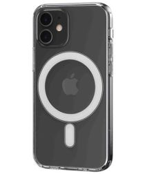 Hoco Apple iPhone 12 Mini Hoesje voor MagSafe Dun TPU Transparant