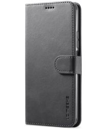 LC.IMEEKE Xiaomi Mi 11 Lite 4G / 5G Hoesje Wallet Book Case Zwart