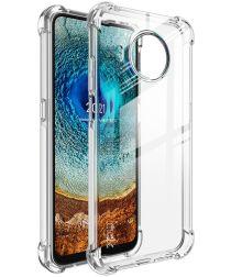 IMAK Nokia X10 / X20 Hoesje TPU met Screen Protector Transparant