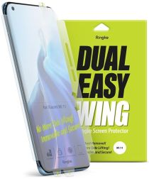 Ringke Dual Easy Film Xiaomi Mi 11 Screenprotector (Duo Pack)