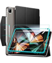 ESR Ascend Apple iPad Pro 12.9 (2021) Hoes met Screen Protector Zwart