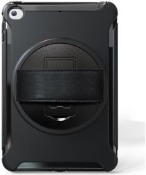Apple iPad Mini 5/4/3/2/1 Hybride Kickstand Hoesje Handriem Zwart