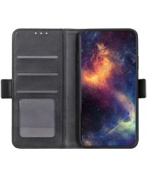 Xiaomi Redmi Note 10 5G/Poco M3 Pro Hoesje Wallet Book Case Zwart