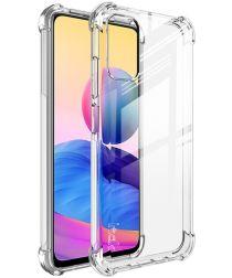 Xiaomi Redmi Note 10 5G/Poco M3 Pro Hoesje met Screen Protector Clear