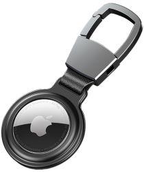 Apple AirTag Sleutelhanger Metalen Case met Magnetische Sluiting Zwart