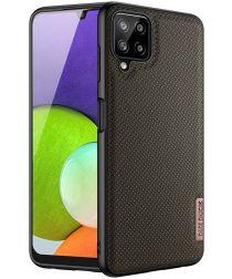 Dux Ducis Fino Series Samsung Galaxy A22 4G Hoesje Back Cover Groen