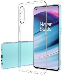OnePlus Nord CE 5G Hoesje Dun TPU Back Cover Transparant