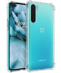 OnePlus Nord CE 5G Hoesje Schokbestendig TPU Back Cover Transparant