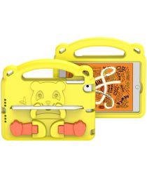 Dux Ducis Panda iPad Mini 1/2/3/4/5 Kinder Tablethoes Handvat Geel