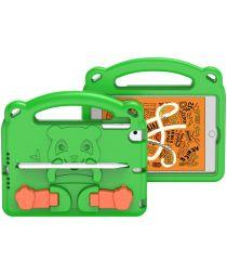Dux Ducis Panda iPad Mini 1/2/3/4/5 Kinder Tablethoes Handvat Groen