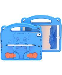 Dux Ducis Panda Apple iPad 9.7 Kinder Tablethoes met Handvat Blauw