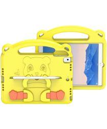 Dux Ducis Panda Apple iPad 9.7 Kinder Tablethoes met Handvat Geel