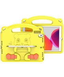 Dux Ducis Panda Apple iPad 10.2 Kinder Tablethoes met Handvat Geel