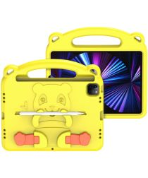 Dux Ducis Panda iPad Air (2020)/Pro 11 Kinder Tablethoes Handvat Geel