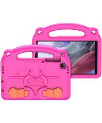 Dux Ducis Panda Samsung Galaxy Tab A7 Lite Kinder Tablethoes Roze