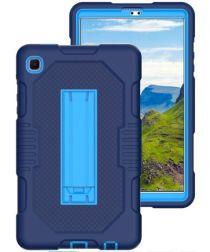 Samsung Galaxy Tab A7 Lite Hybride Hoes met Kickstand Blauw