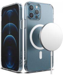 Ringke Fusion Magnetic Apple iPhone 12 / 12 Pro Hoesje Mat Transparant