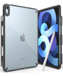 Ringke Fusion Apple iPad Air 2020 Hoes + Outstanding Transparant Zwart