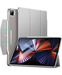 ESR Ascend Apple iPad Pro 12.9 2021 Hoes Tri-Fold Book Case Grijs