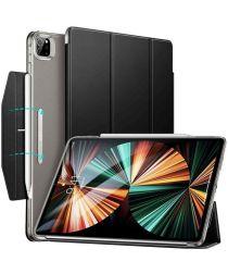 ESR Ascend Apple iPad Pro 12.9 2021 Hoes Tri-Fold Book Case Zwart