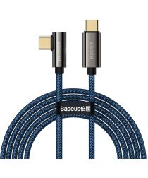 Baseus Legend Series USB-C naar USB-C Kabel 100W Blauw 2M