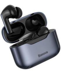 Baseus S1 Wireless Bluetooth Earphones Met Noise Cancelling Grijs