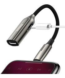 Baseus Lightning 2-in-1 audio converter en adapter