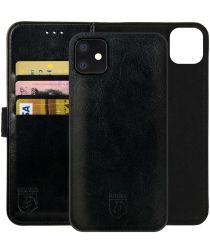 Rosso Element 2-in-1 Apple iPhone 12/12 Pro Hoesje Zwart