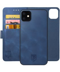 Rosso Element 2-in-1 Apple iPhone 12/12 Pro Hoesje Blauw
