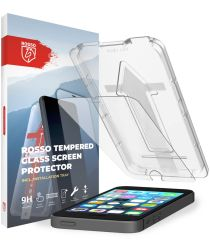 Rosso Apple iPhone SE / 5 / 5S Tempered Glass met Installatietray