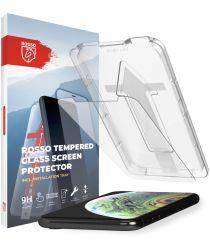 Rosso Apple iPhone XS Max Tempered Glass met Installatietray