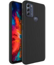 IMAK UC-3 Series Motorola Moto G50 Hoesje Flexibel en Dun TPU Zwart