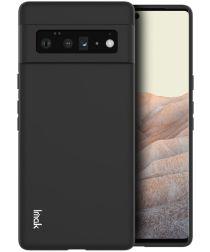 IMAK UC-3 Series Google Pixel 6 Pro Hoesje Flexibel en Dun TPU Zwart
