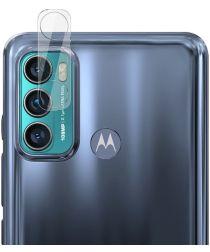 Imak Motorola Moto G60s Camera Lens Protector + Lens Cap Clear