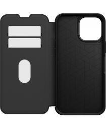 OtterBox Strada Apple iPhone 13 Pro Max Hoesje Wallet Book Case Zwart