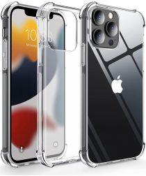 Apple iPhone 13 Pro Hoesje Schokbestendig en Dun TPU Transparant