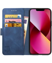 Rosso Element Apple iPhone 13 Hoesje Book Cover Blauw