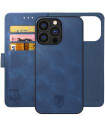 Rosso Element 2-in-1 Apple iPhone 13 Pro Hoesje Blauw